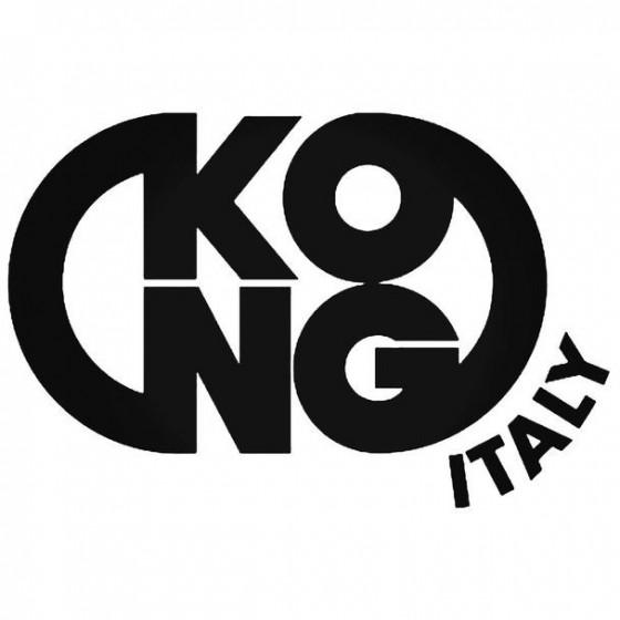Kong Helmets Decal Sticker