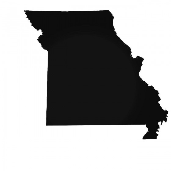 Missouri Mo State Decal...