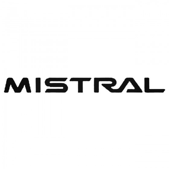 Mistral Decal Sticker