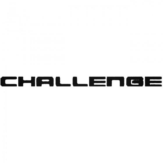 Mitsubishi Challenge Vinyl...