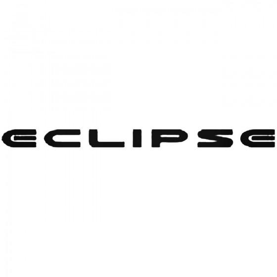 Mitsubishi Eclipse Vinyl Decal