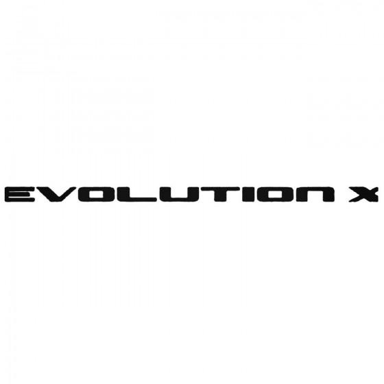 Mitsubishi Evolution X...