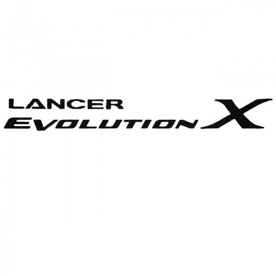 Mitsubishi Evolution X Set...