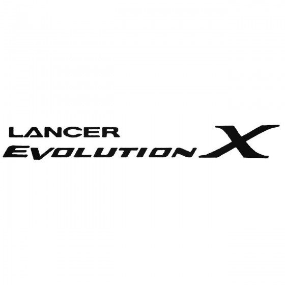 Mitsubishi Lance Evolution...