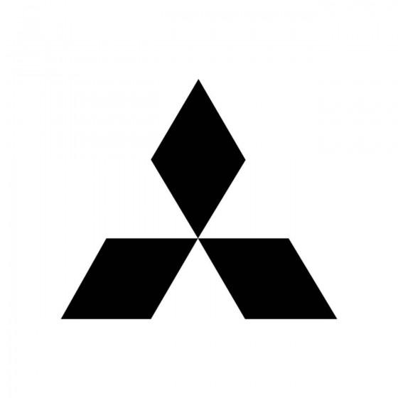 Mitsubishi Logo Plein Vinyl...