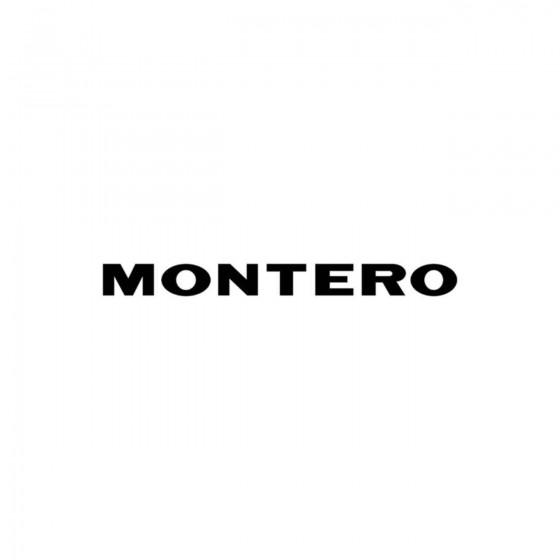 Mitsubishi Montero Ecriture...