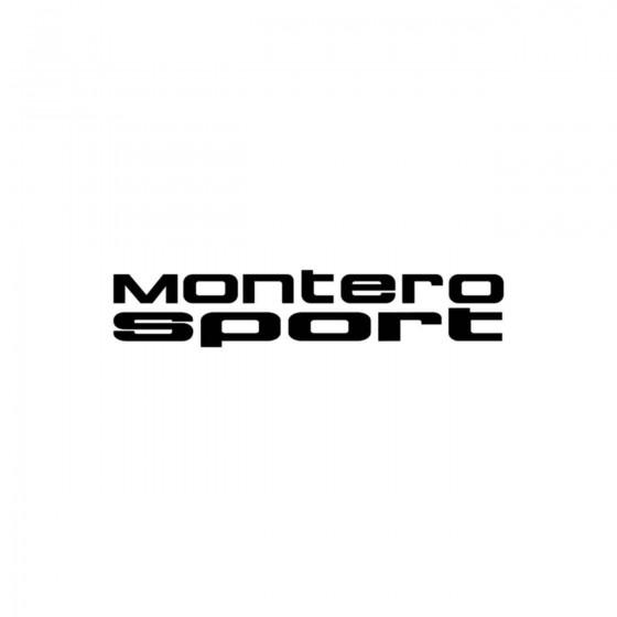 Mitsubishi Montero Sport...