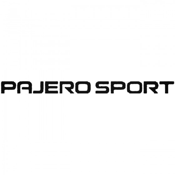 Mitsubishi Pajero Sport...