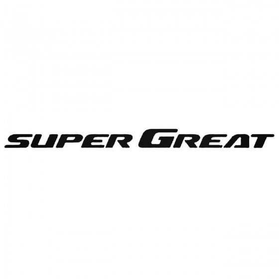 Mitsubishi Super Great Logo...