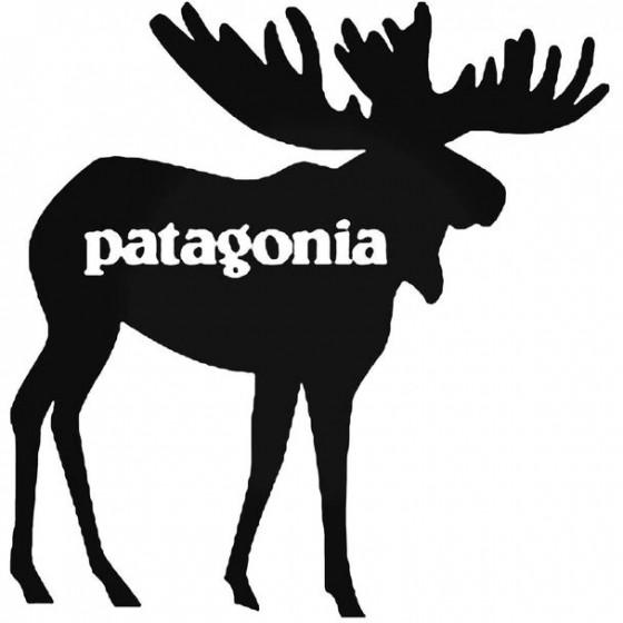 Patagonia Moose Decal Sticker