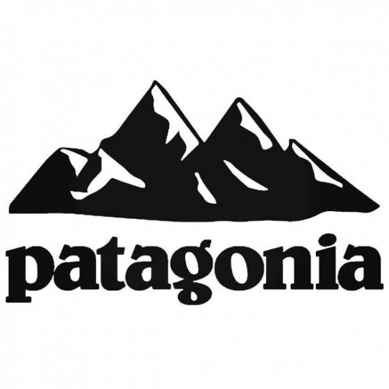 Patagonia Mountain Decal...