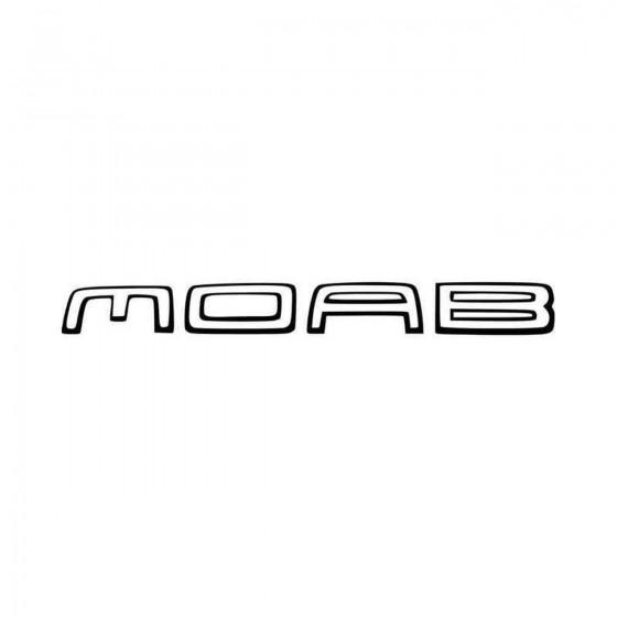 Moab Jeep Hood S Vinyl...
