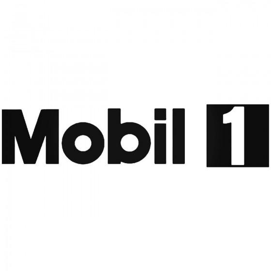 Mobil 1 Vinyl Decal Sticker