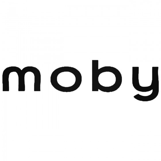 Moby Decal Sticker