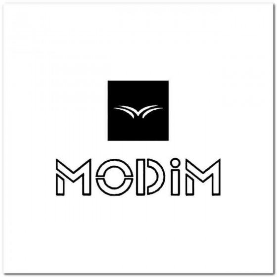 Modim Vinyl Decal