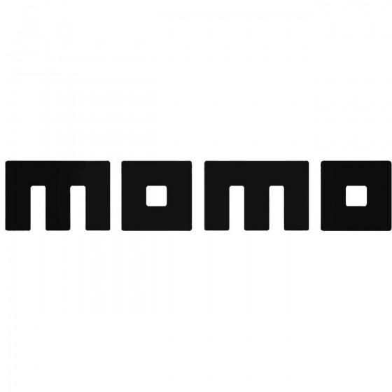 Momo 2 Vinyl Decal Sticker