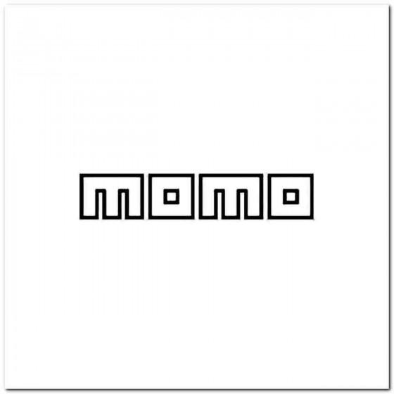 Momo Italy Vinyl Decal
