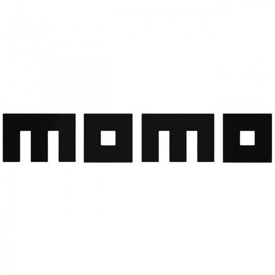 Momo Sponsor Decal Sticker