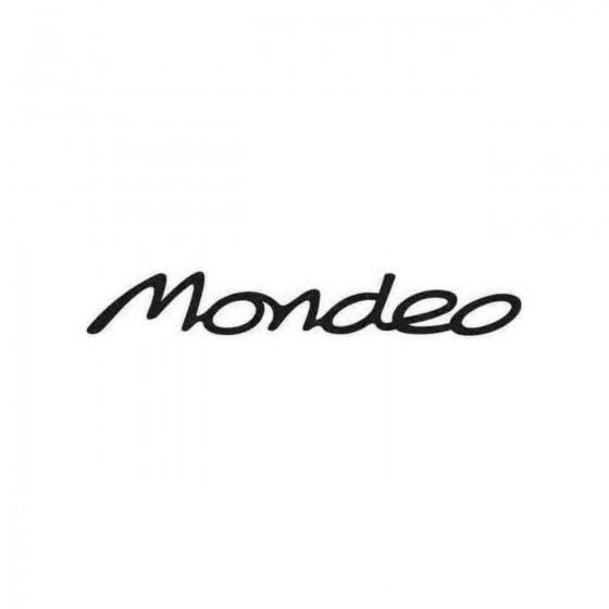 Mondeo Graphic Decal Sticker