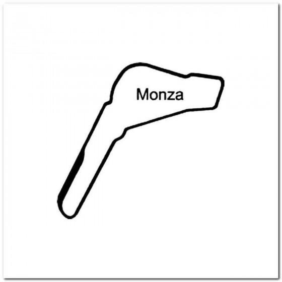 Monza Circuit Racetrack...