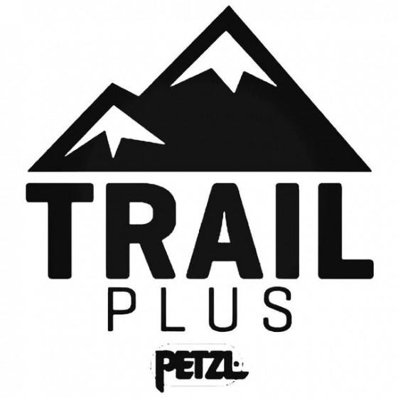 Trail Plus Petzl Decal Sticker