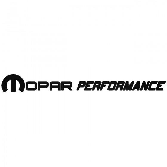 Mopar Performance Vinyl...