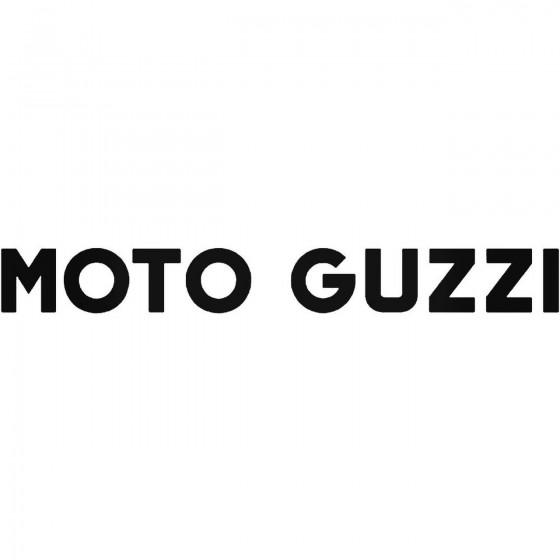 Moto Guzzi Decal Sticker