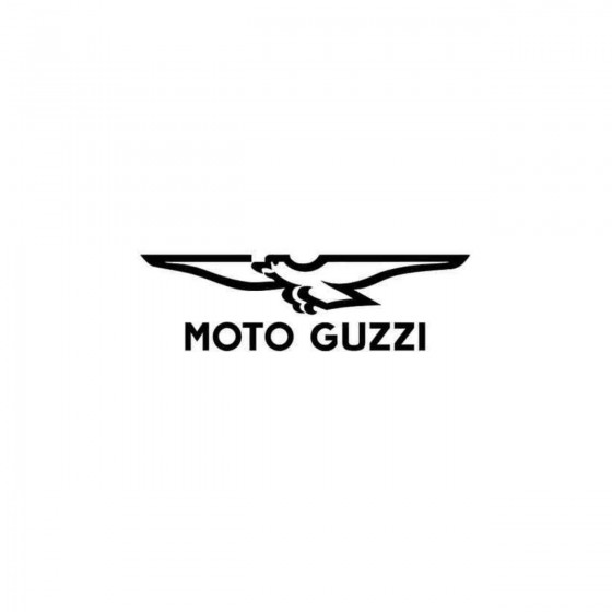 Moto Guzzi Logo Links Decal...