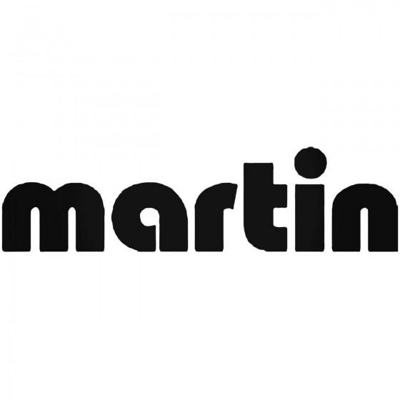 Moto Martin Decal Sticker