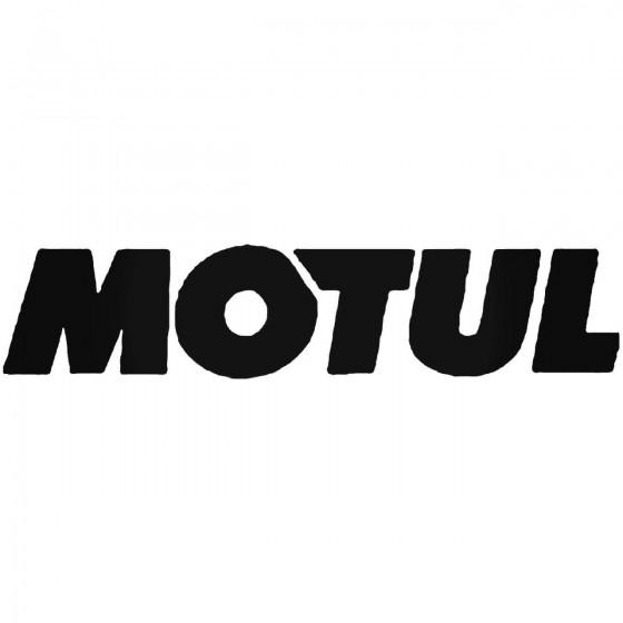Motul Vinyl Decal