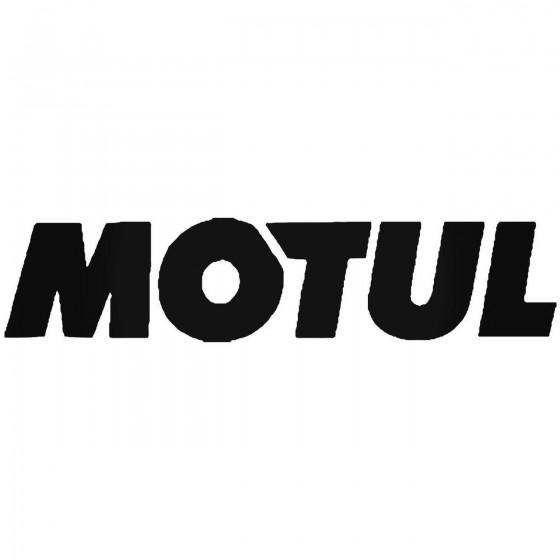Motul Vinyl Decal Sticker