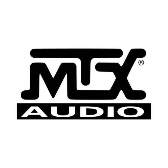 Mtx Audio Vinyl Decal Sticker