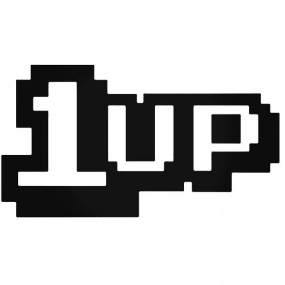 1up Decal Sticker