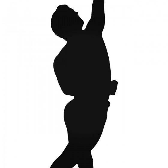 Music S Ballet Dancer 2 Decal