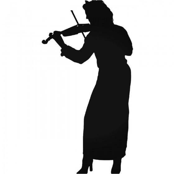 Music S Violin Player...