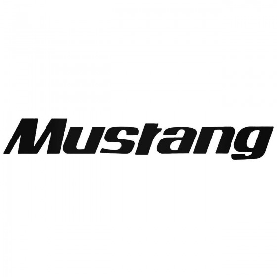 Mustang 2 Graphic Decal...