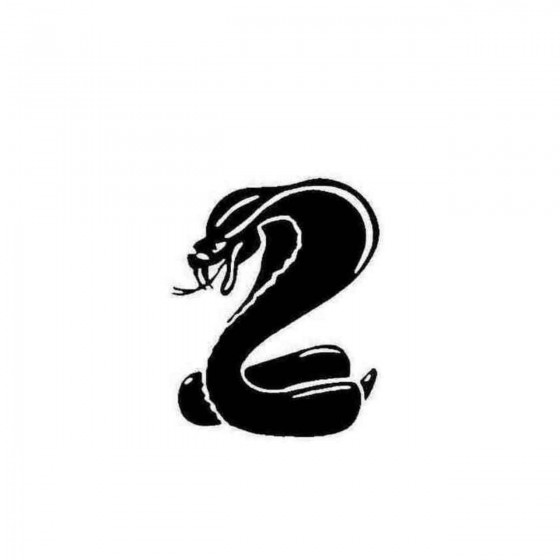 Mustang Cobra Decal Sticker