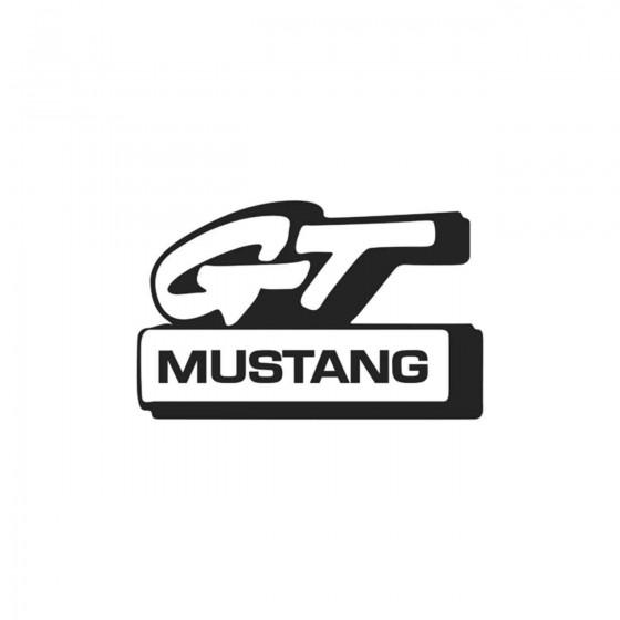 Mustang Gt Logo Vinyl Decal...