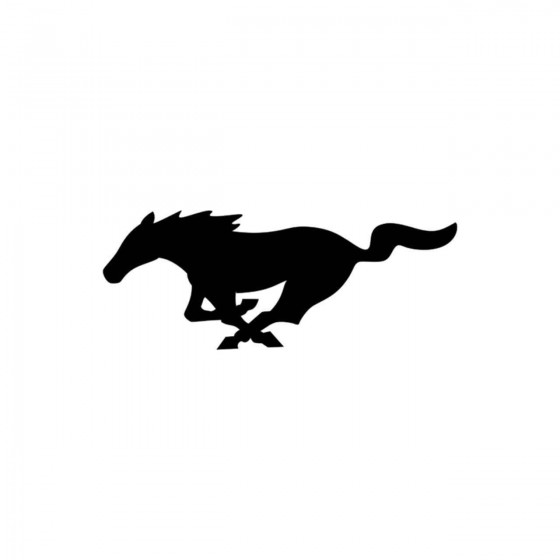Mustang Logo Plein Vinyl...