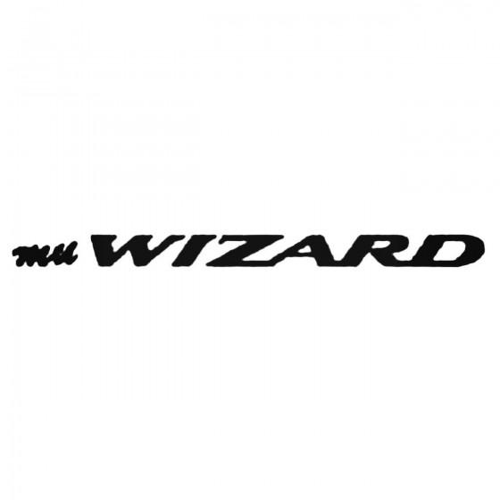 Mu Wizard Decal Sticker