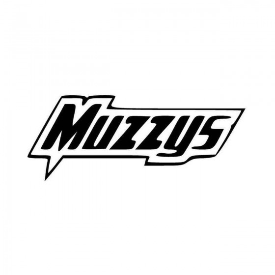 Muzzys Vinyl Decal Sticker