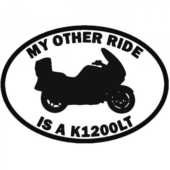 My Other Ride Bmw K1200lt...