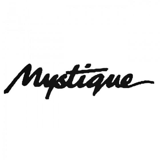Mystique Decal Sticker