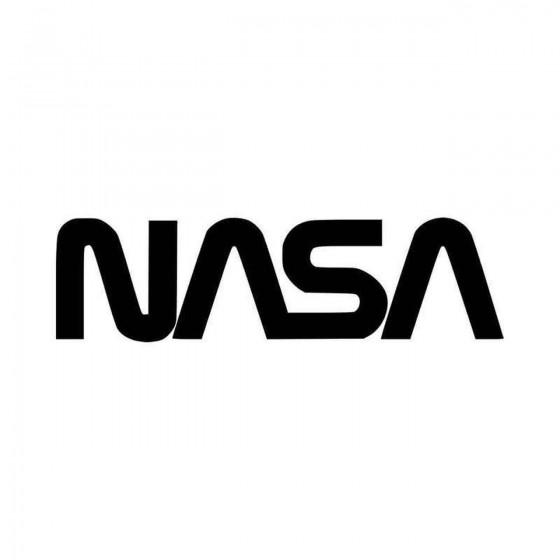 Nasa Vinyl Decal Sticker