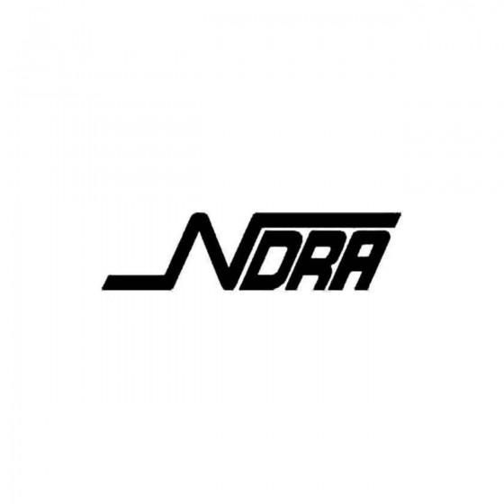 Ndra Vinyl Decal