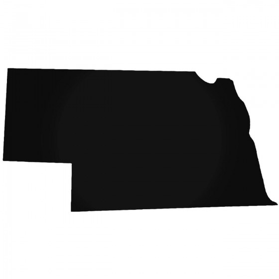 Nebraska Home State Decal...
