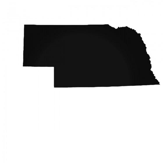 Nebraska Ne State Decal...