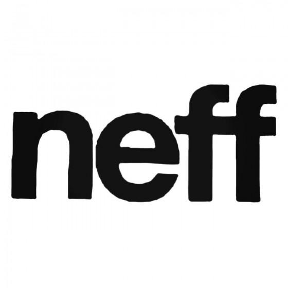 Neff Bold Decal Sticker