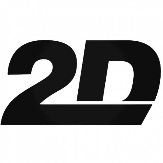 2D Sticker