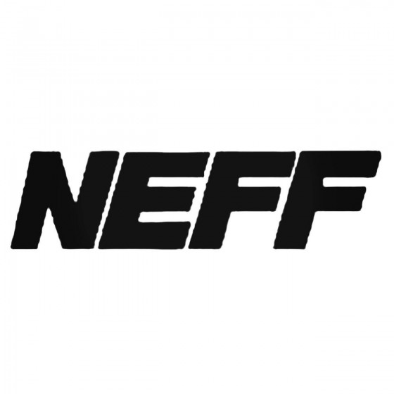 Neff Spry Inner Decal Sticker